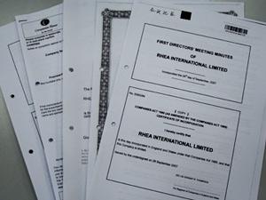 注册英国公司得到证件